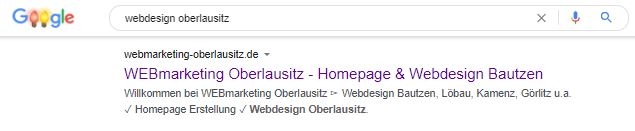 Screenshot-Google-Suche-Webdesign-Oberlausitz
