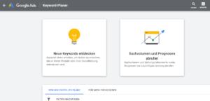 google-adwords-keyword-planer-uebersichtsseite