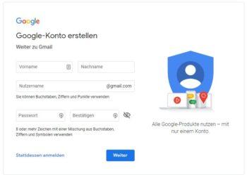 Website bei Google anmelden - Schritt für Schritt