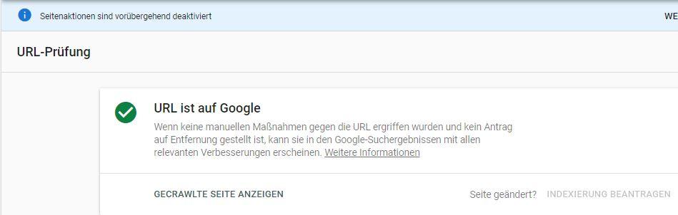 indexierungstool-von-google-zurzeit-nicht-verfuegbar